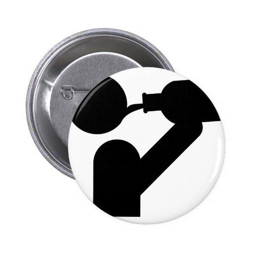 icône de gros buveur badges