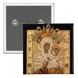 Icône de la Vierge, monastère de Smolenskaja Badges
