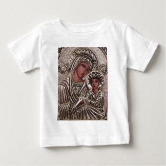 Icône de mère et d'enfant, Madonna et Jésus en T-shirt
