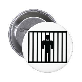 icône de prisonnier badge avec épingle