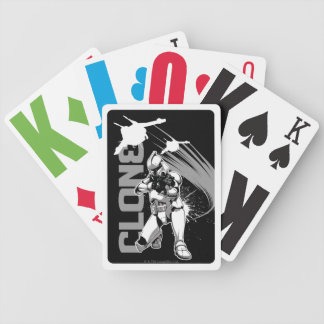 Icône de soldat de la cavalerie de clone jeux de cartes