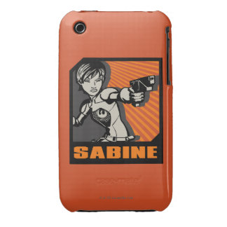Icône de Star Wars la Sabine Coque iPhone 3 Case-Mate