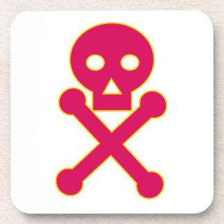 Icône de symbole de poison dessous-de-verre