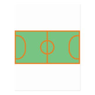 icône de terrain de jeu de handball cartes postales