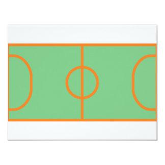 icône de terrain de jeu de handball faire-parts