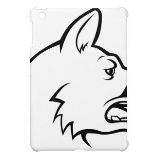 Icône de visage de chien coques iPad mini