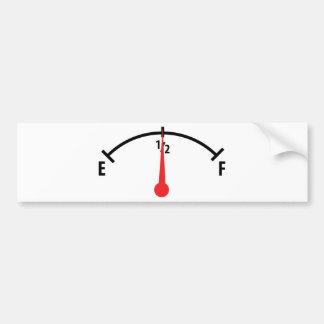 icône d'indicateur de carburant autocollant pour voiture