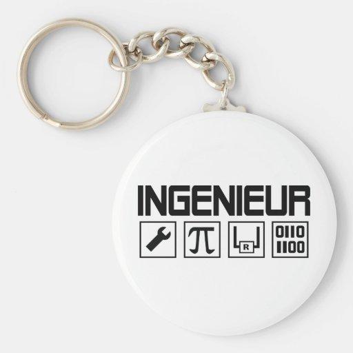 icône d'ingenieur porte-clé