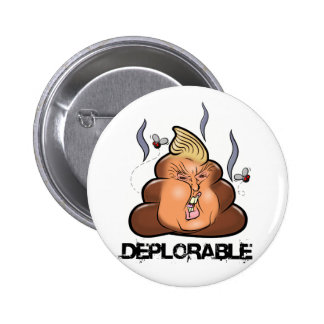 Icône drôle de Donald Trump - de Trumpy-Poo Poo Badge
