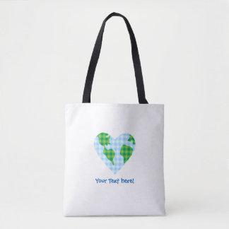 Icône mignonne de bande dessinée de coeur de la sac