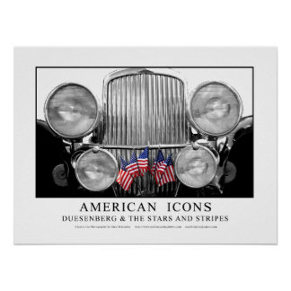 Icônes américaines - Dusenberg et la bannière étoi