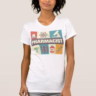 Iconique professionnel de pharmacien conçu t-shirt