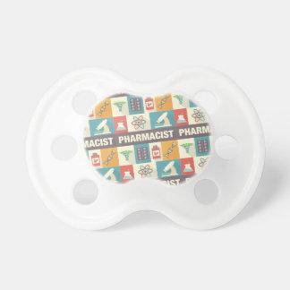 Iconique professionnel de pharmacien conçu tétines pour bébé