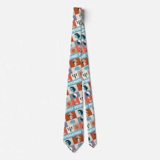 Iconique professionnel de psychiatre conçu cravates