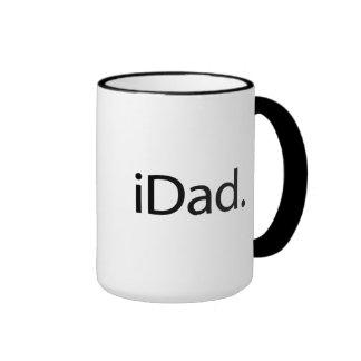 iDad. Logo (papa d'I) Mug Ringer