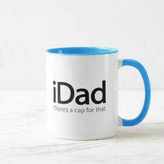 iDad - une tasse drôle de fête des pères pour le