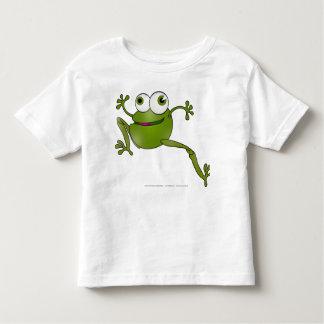 Ide Zmija Zaba - serpent fonctionnant - grenouille T-shirt Pour Les Tous Petits