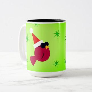 Idée cardinale fraîche de cadeau de tasse de café