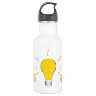 Idée créative d'ampoule bouteille d'eau en acier inoxydable