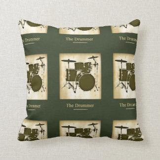 idée de tambour/décor de tambours coussin décoratif