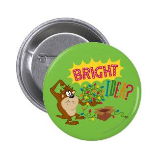 Idée lumineuse badge avec épingle