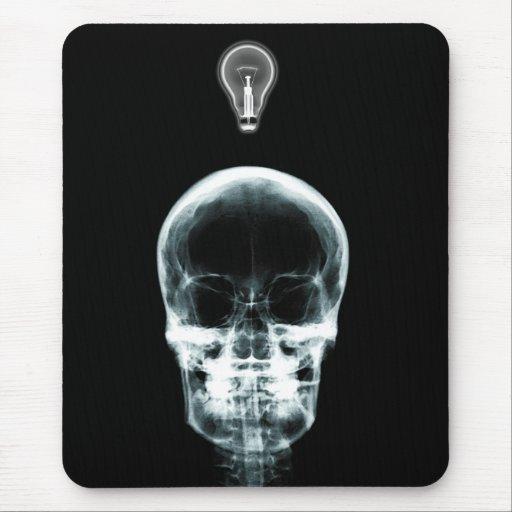 id e lumineuse squelettique de rayon x original tapis de souris zazzle. Black Bedroom Furniture Sets. Home Design Ideas
