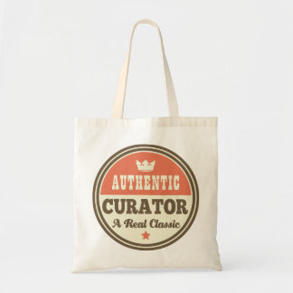Idée vintage de cadeau de conservateur authentique sac