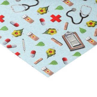 idées de cadeau de docteur papier mousseline