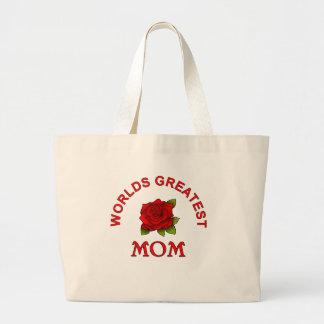 Idées de cadeau de jour de mères sacs de toile