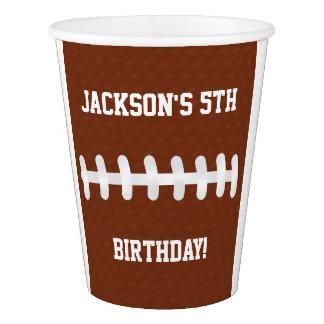 Idées de fête d'anniversaire des tasses de papier gobelets en papier
