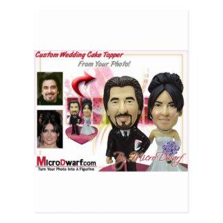Idées personnalisées de cadeaux de mariage cartes postales