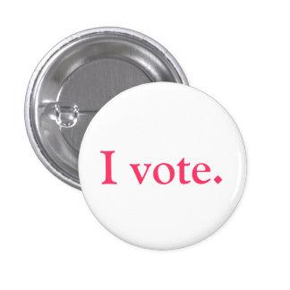 Identification d'électeur, style de grlsvote badges