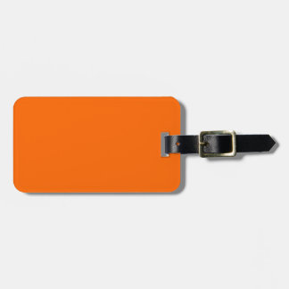 Identification facile orange de flamme de étiquettes bagages