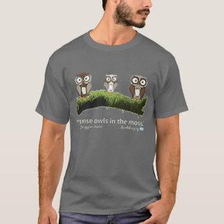 Idiome suédois : Hiboux dans la mousse T-shirt