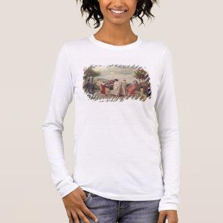 Idylle classique (huile sur la toile) t-shirt à manches longues