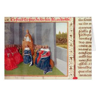 II urbain prêchant la croisade chez Clermont Carte De Vœux
