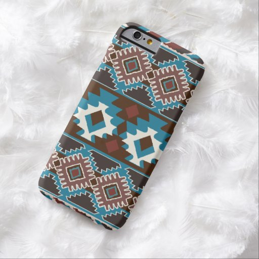 IKAT, ethnique, indigène Coque iPhone 6 Barely There