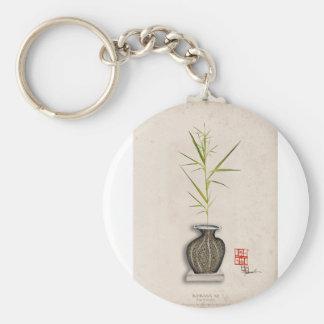 ikebana 12 par les fernandes élégants porte-clé rond