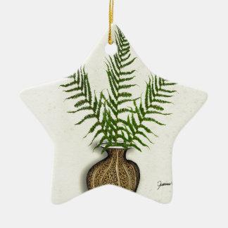 ikebana 18 par les fernandes élégants ornement étoile en céramique