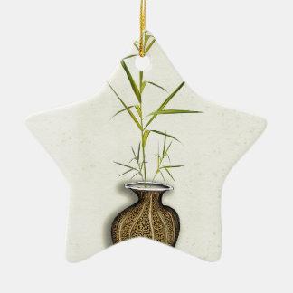 ikebana 19 par les fernandes élégants ornement étoile en céramique