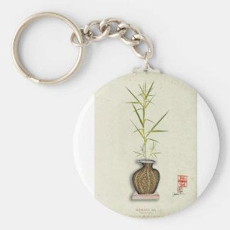 ikebana 19 par les fernandes élégants porte-clé rond