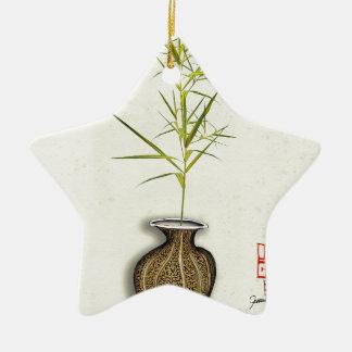 ikebana 20 par les fernandes élégants ornement étoile en céramique