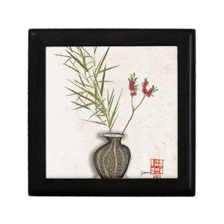 ikebana 8 par les fernandes élégants petite boîte à bijoux carrée