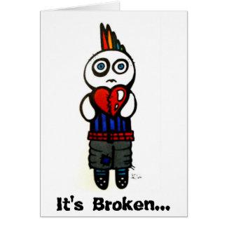 Il a cassé… la carte de Valentine