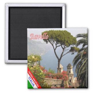 IL - côte de l'Italie - d'Amalfi - Ravello Magnet Carré