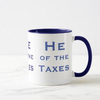 Il du comptable d'impôts d'impôts ou du mug
