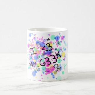 Il effiloche I love my geek Mug
