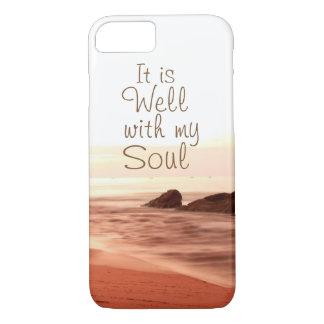 Il est bien avec mon âme, hymne aimée coque iPhone 7