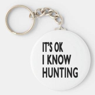 Il est CORRECT je savent la chasse Porte-clefs