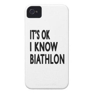 Il est CORRECT je savent la danse de biathlon Coque Case-Mate iPhone 4